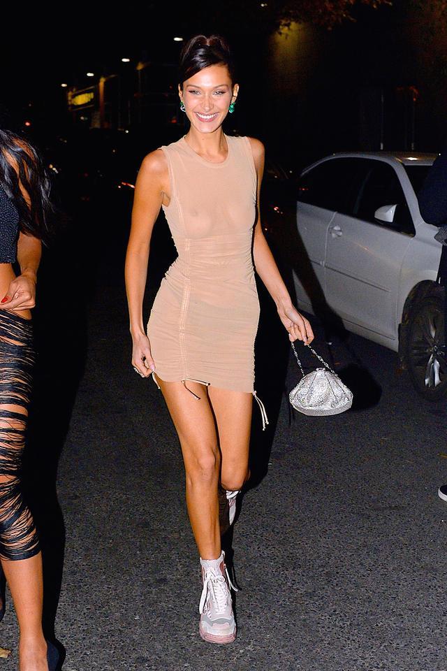 Bella Hadid evening bag
