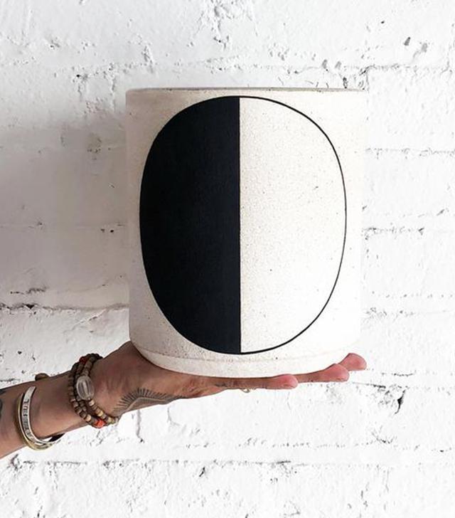 Mquan Half Moon Vase