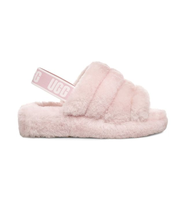 Ugg Fluff Yeah Slides in Seashell Pink