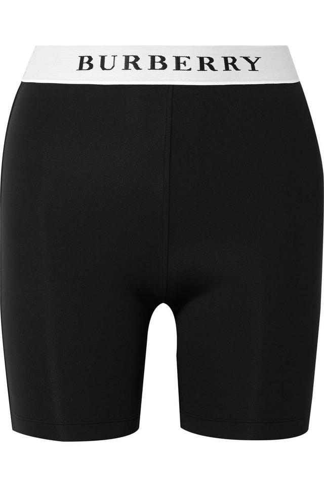 Burberry Stretch-Jersey Shorts