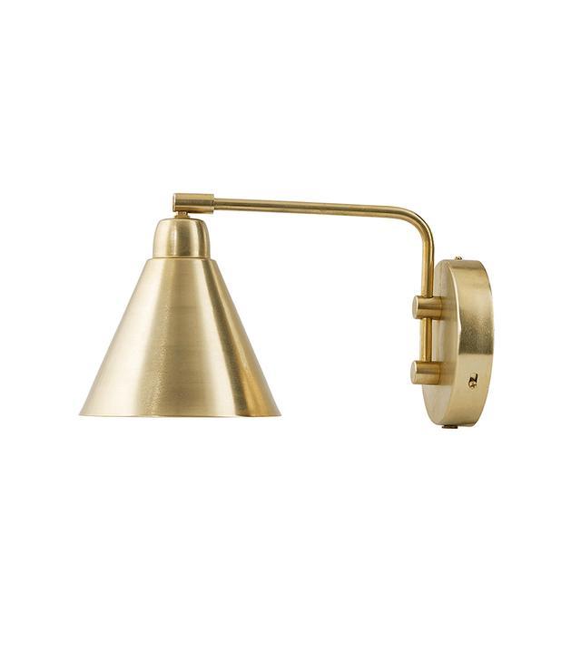 Cox & Cox Brass Wall Light