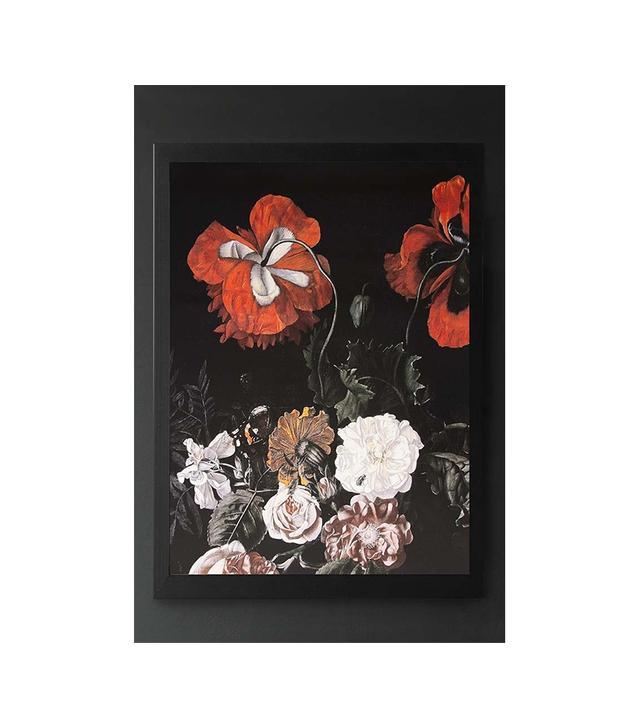 Rockett St. George Unframed Winter Garden Floral Art Print