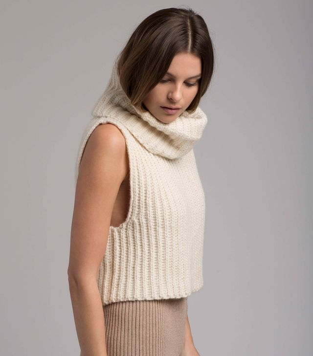 Helfrich Zoe Sleeveless Turtleneck