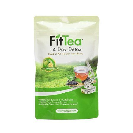 Fit Tea 14 Day Detox Herbal Weight Loss Tea