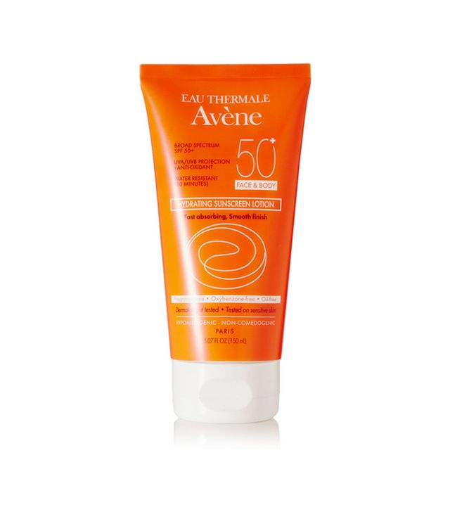 Avene Spf50 Hydrating Sunscreen Lotion