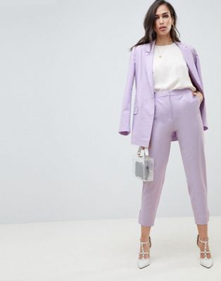 ASOS Design Tailored Lilac Occasion Pant