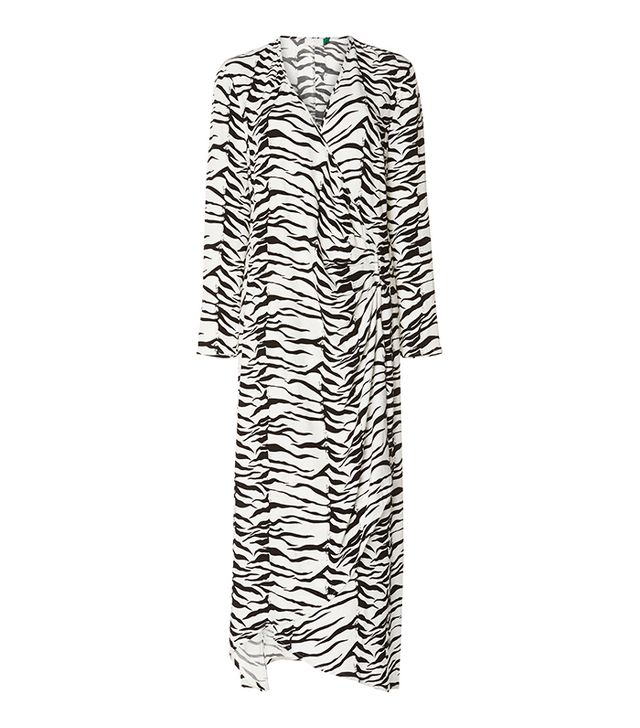 Rixo London Betty Midi Wrap Dress
