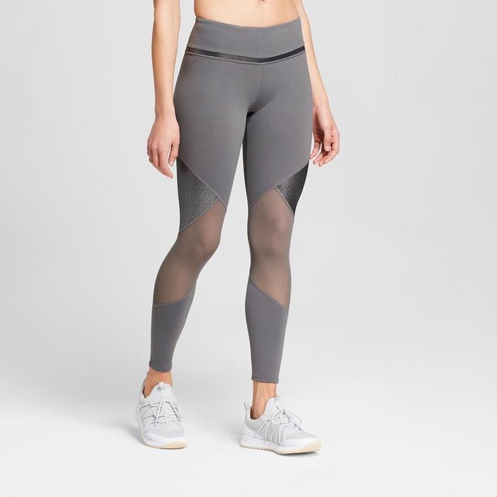 c2566506fdb21 Pinterest · Shop · JoyLab Premium 7/8 Shine and Mesh Pieced High-Waisted  Leggings ($40)