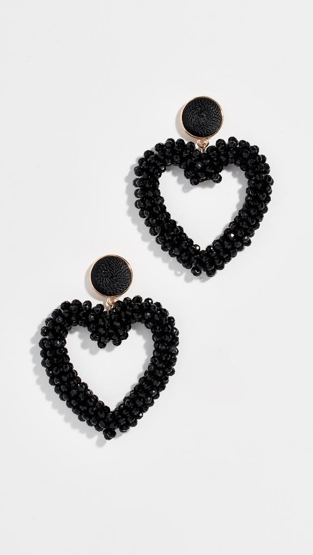 BaubleBar Amissa Heart Drop Earrings