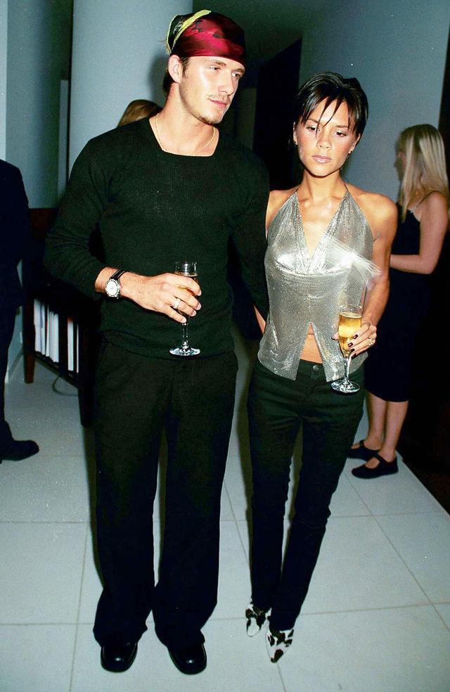 David Beckham's Best '90s Outfits