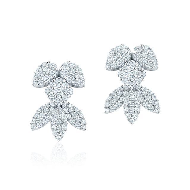 Birks Snowstorm Earrings