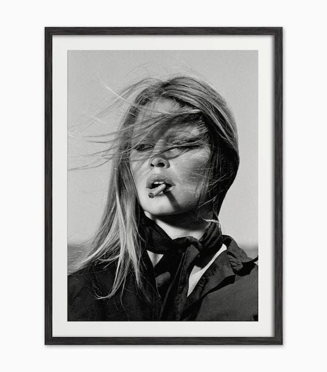 ArteHausPrints Brigitte Bardot Smoking Art Print