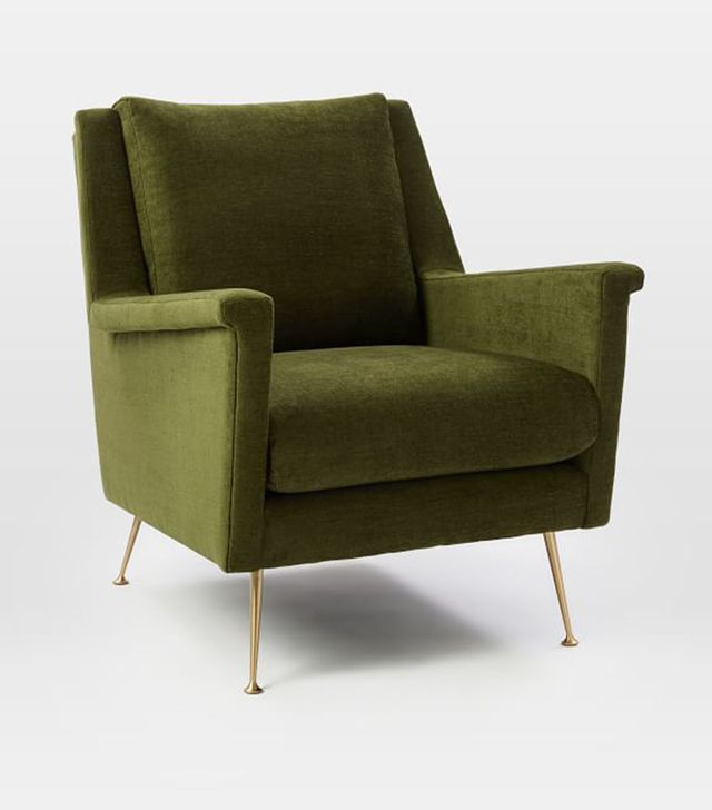 West Elm Carlo Mid-Century Chair