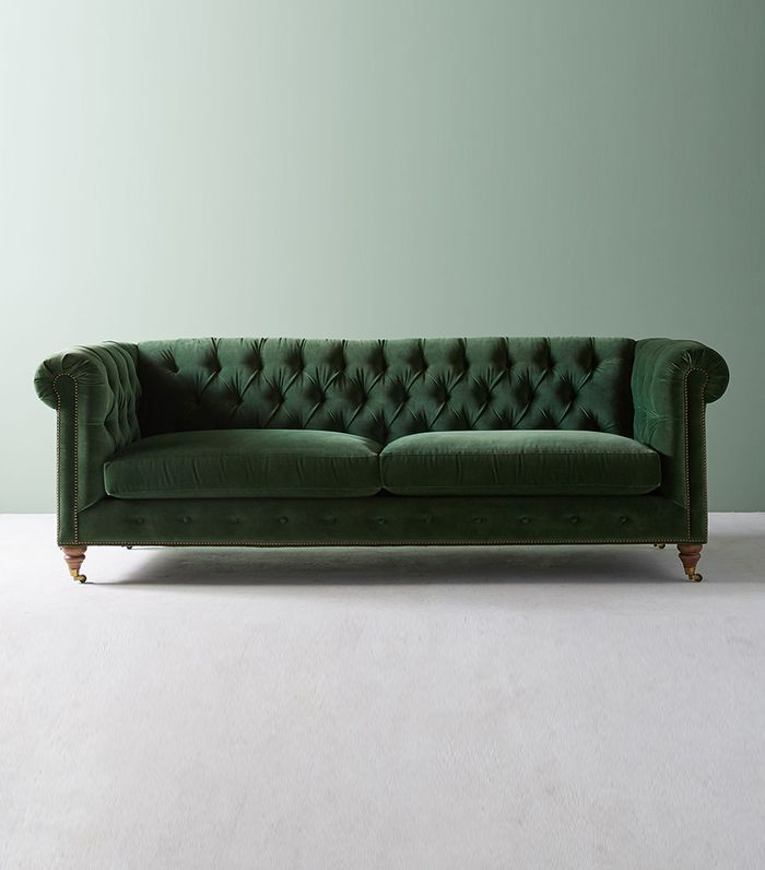 Behold The 13 Green Velvet Sofas We All Secretly Need