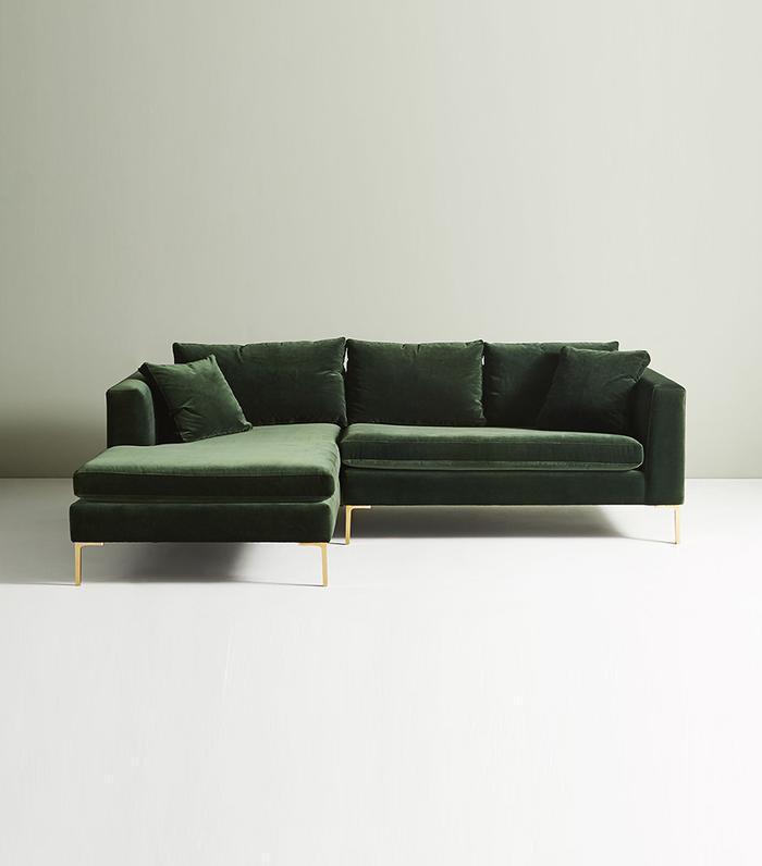Behold The 13 Green Velvet Sofas We All Secretly Need Mydomaine