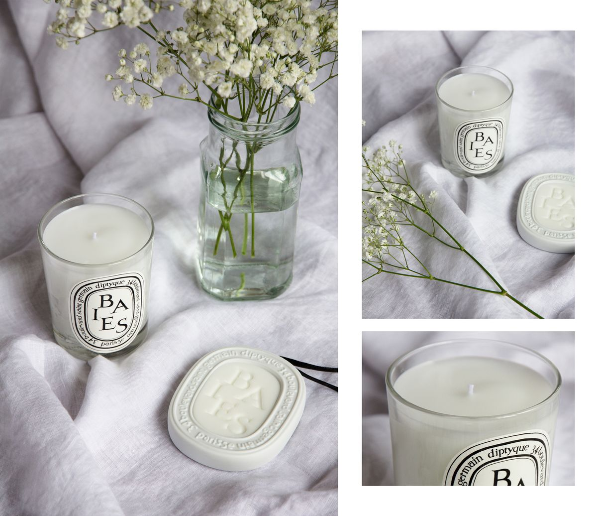 "<h5><em>Diptyque <a href=""https://www.mecca.com.au/diptyque/baies-candle/V-008665.html"" target=""_blank"">Baies Candle</a> ($87) and <a..."