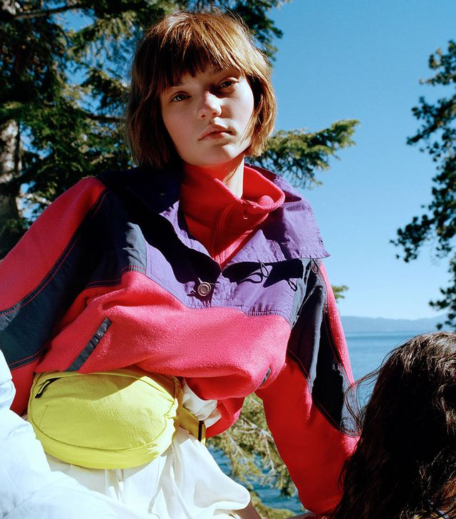 Urban Outfitters Novelty Colorblock Popover Ski Jacket