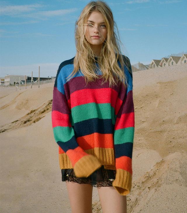 Urban Outfitters Bobby Boyfriend Crew-Neck Sweater