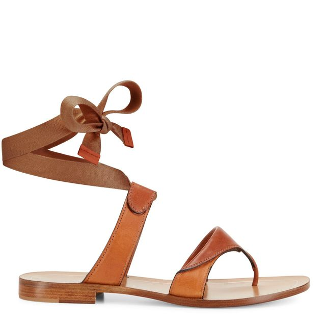 Sarah Flint Grear Sandals in Saddle Vachetta