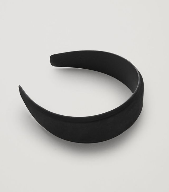 COS Padded Nubuck Leather Headband