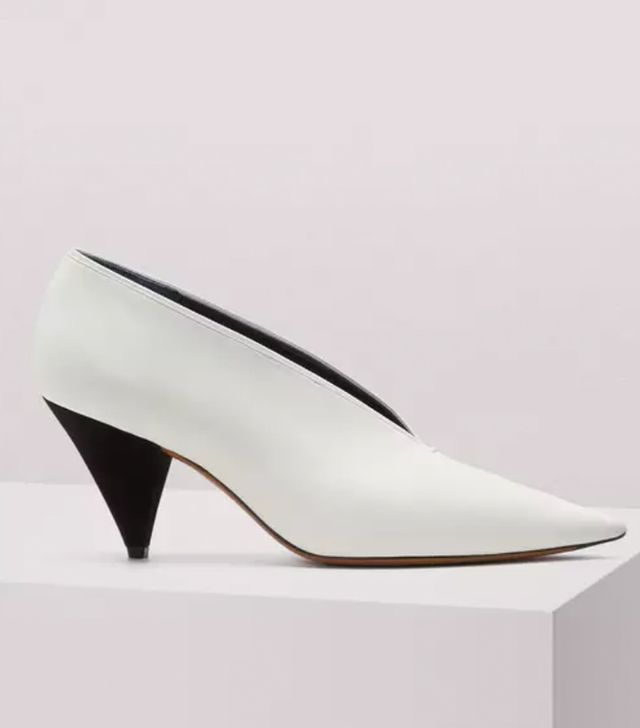 Céline V-Neck Pumps