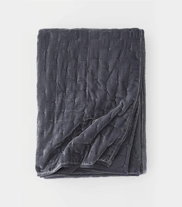 H&M Home Velvet Bedspread