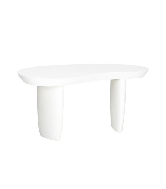 CB2 Avorio Side Table