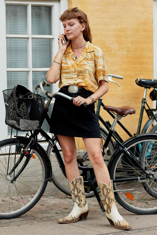 """<p><strong>DO WEAR:</strong> COWBOY BOOTS</p> <p>""""Cowboy boots will always be a popular trend. Just make sure there's always room for your toes so they aren't squished. Cowboy boots also provide..."""