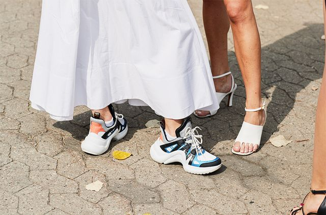"""<p><strong>DO WEAR:</strong> SNEAKERS AND RUNNING SHOES</p> <p>""""By definition, these have optimum arch support and soles meant for shock absorption. Companies like Nike make sneakers and running..."""