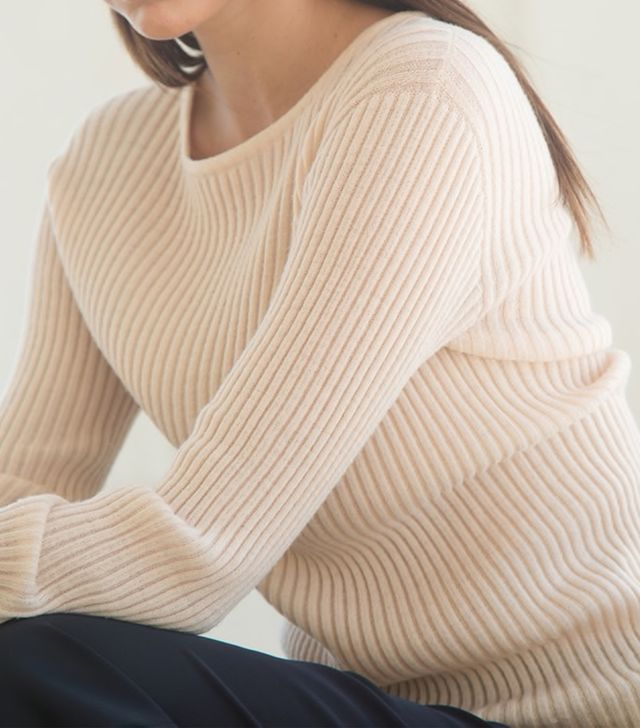 Almina Concept Ribbed Cashmere Sweater