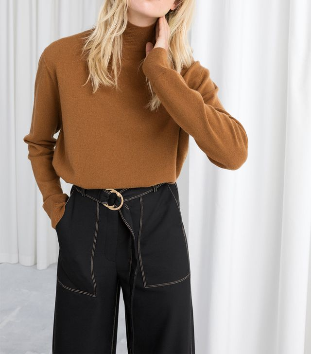 & Other Stories Cashmere Turtleneck