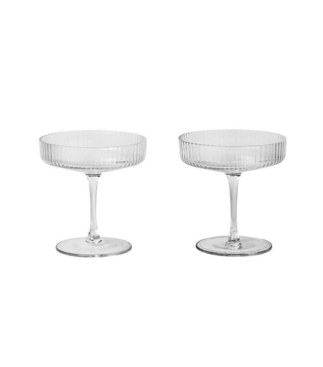 TRNK Ripple Champagne Coupes