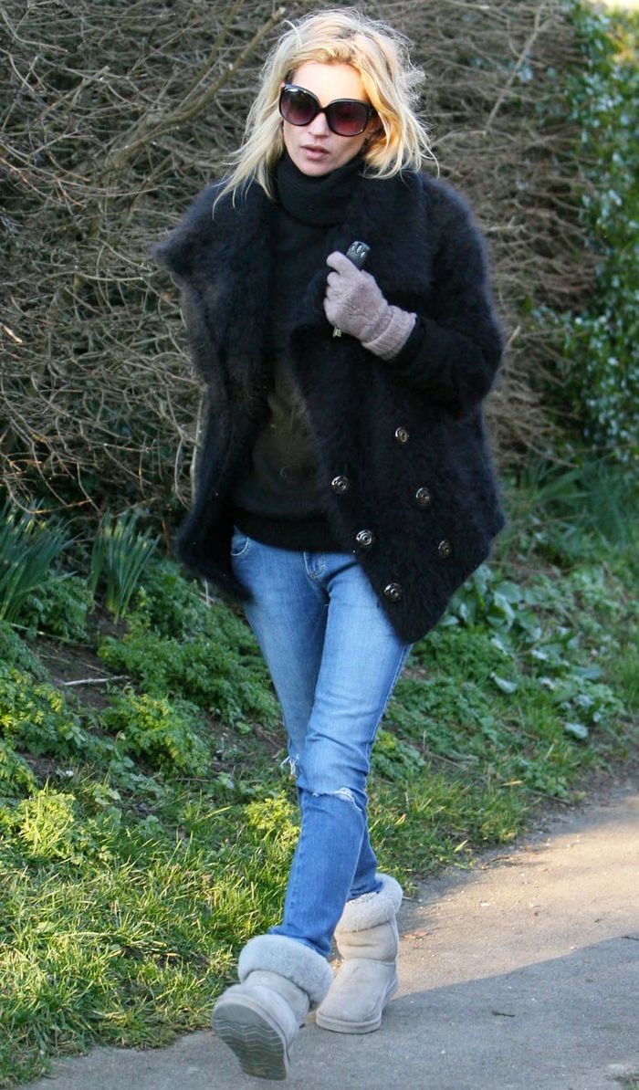 How to uggs wear with baggy jeans rare photo