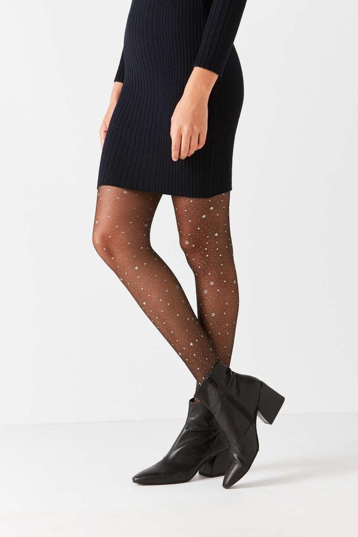 85f619c77444f 10 Pairs of Glitter Tights Certain to Sparkle   Who What Wear
