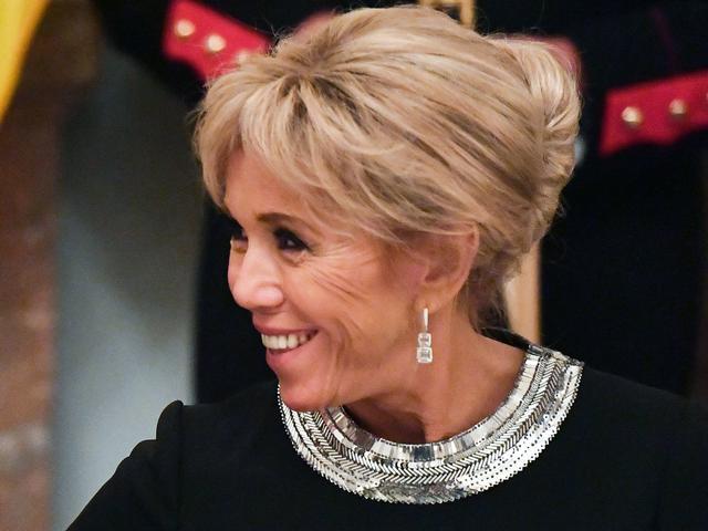 Brigitte Macron's Royal Palace Belgium Outfit