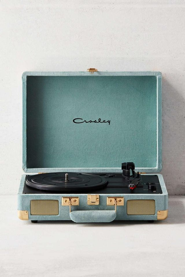 Urban Outfitters x Crosley Crosley UO Exclusive Corduroy Cruiser Bluetooth Record Player