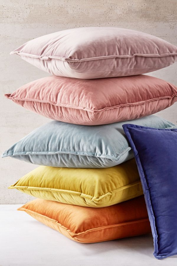 Urban Outfitters Velvet Throw Pillow