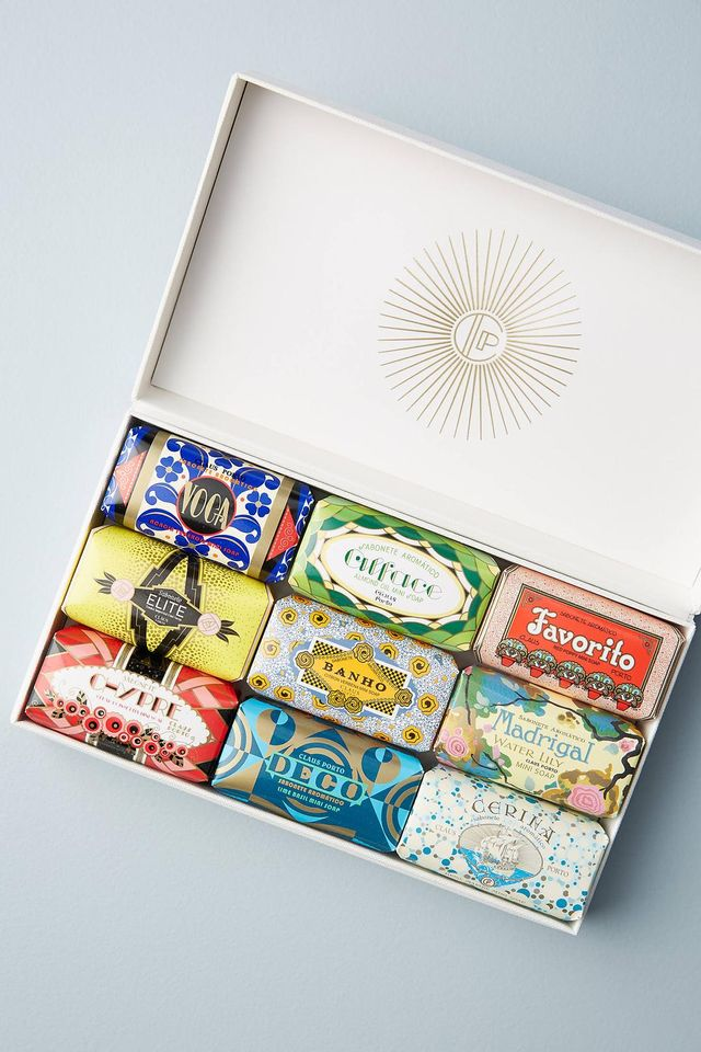 Claus Porto Mini Bar Soap Gift Box