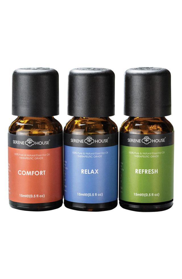 SERENE HOUSE Serene House Pure & Natural 3-Pack Essential Oils