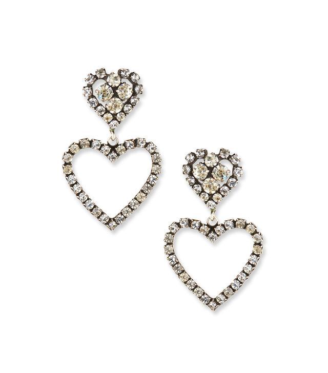 Dannijo Lola Heart Drop Earrings