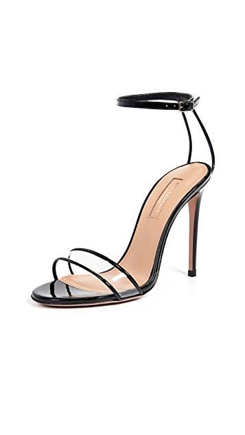 Aquazzura Minimalist 105 Sandals