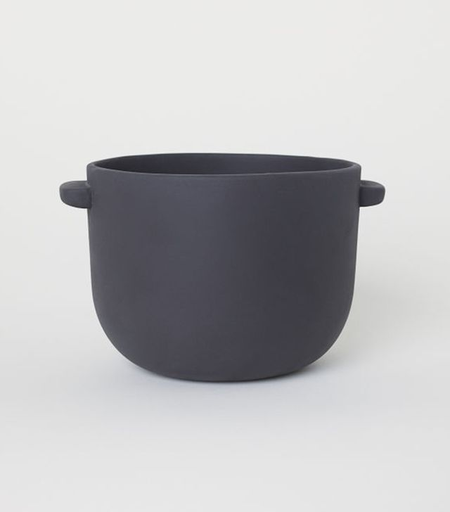 H&M Home Stoneware Plant Pot