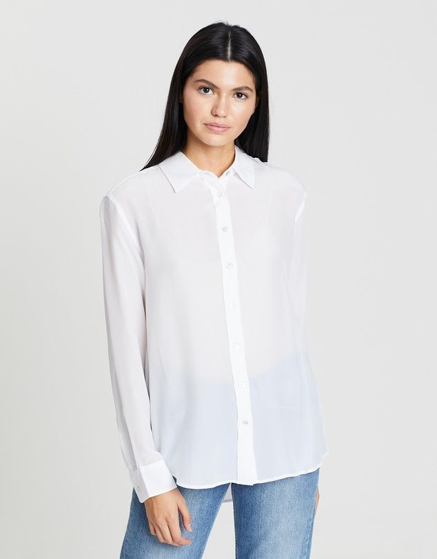 Assembly Label Essential Silk Shirt