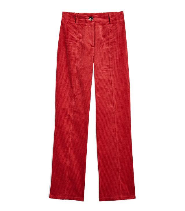 Topshop Corduroy Trousers