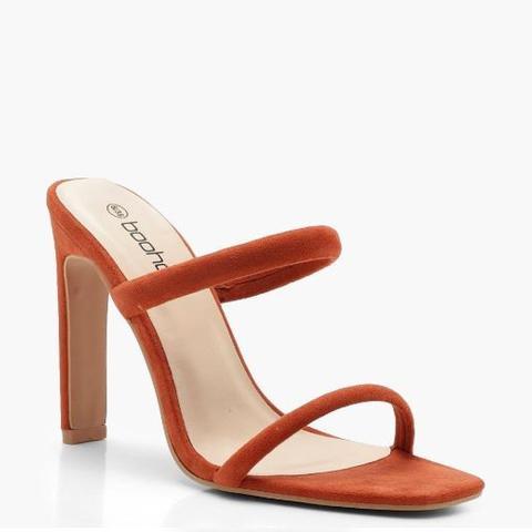 Double Strap Mule Heels