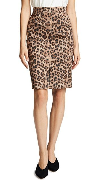 Miaou Flo Pencil Skirt