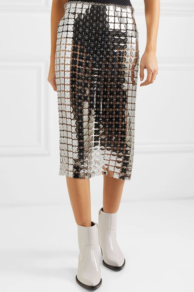 Paco Rabanne Chain Mail Skirt