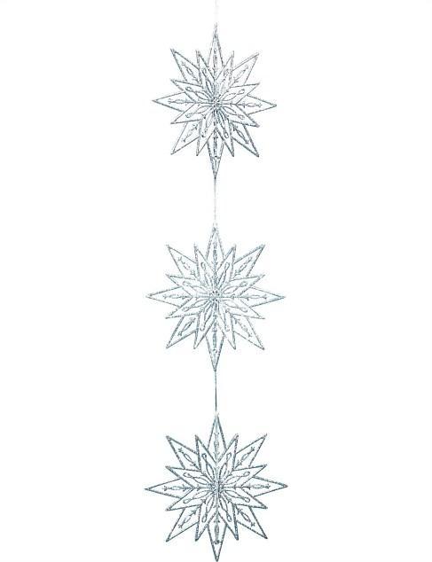 Weiste Snowflake Chain Silver