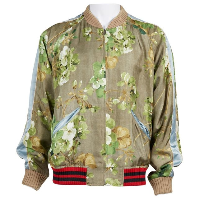 Gucci Silk Jacket