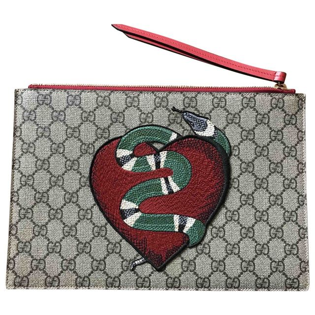 Gucci Cloth Clutch Bag